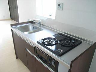 ラカーサ北沢201号室キッチン (2).JPG