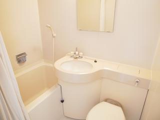 リビングハイムⅠ102号室バスルーム.JPG
