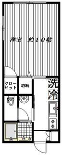 ダインハウス駒沢公園101間取り.jpg